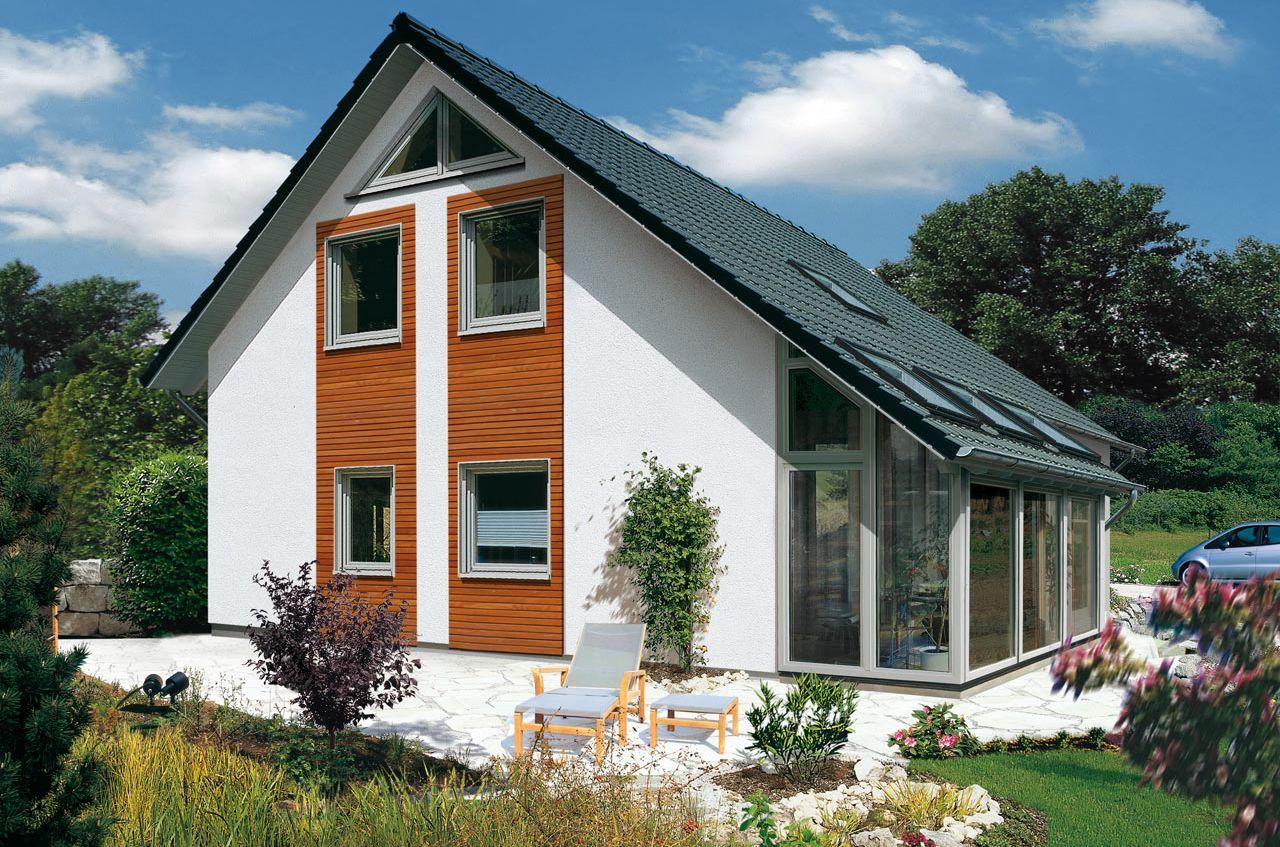 Einfamilienhaus mit Wintergarten bauen mit STREIF - Family - SD 2506 ...