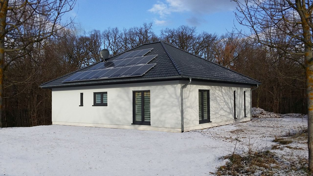 In die zukunft gedacht bungalow gebaut Bungalow preiswert bauen