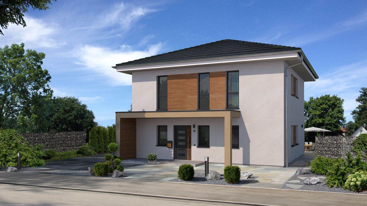 stadthaus bauen mit streif hausentwurf und grundriss. Black Bedroom Furniture Sets. Home Design Ideas