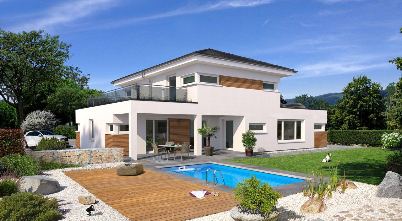 Favorit schlüsselfertiges Stadthaus bauen mit STREIF - Hausentwurf City FD67