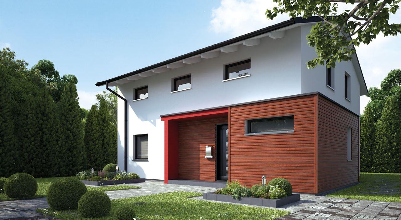 modernes Einfamilienhaus bauen mit dem Fertighausanbieter STREIF ...