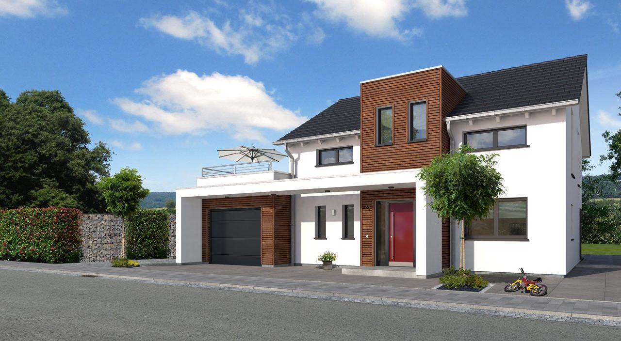 Einfamilienhaus Bauen Mit Streif Family Sd 2503 Koln Mit Garage