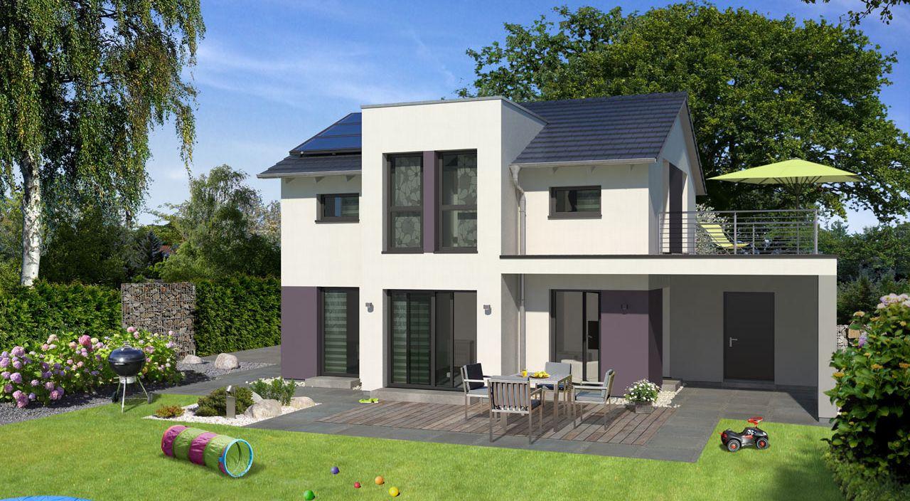 Einfamilienhaus Mit Garage Bauen Mit Streif Hausentwurf Family