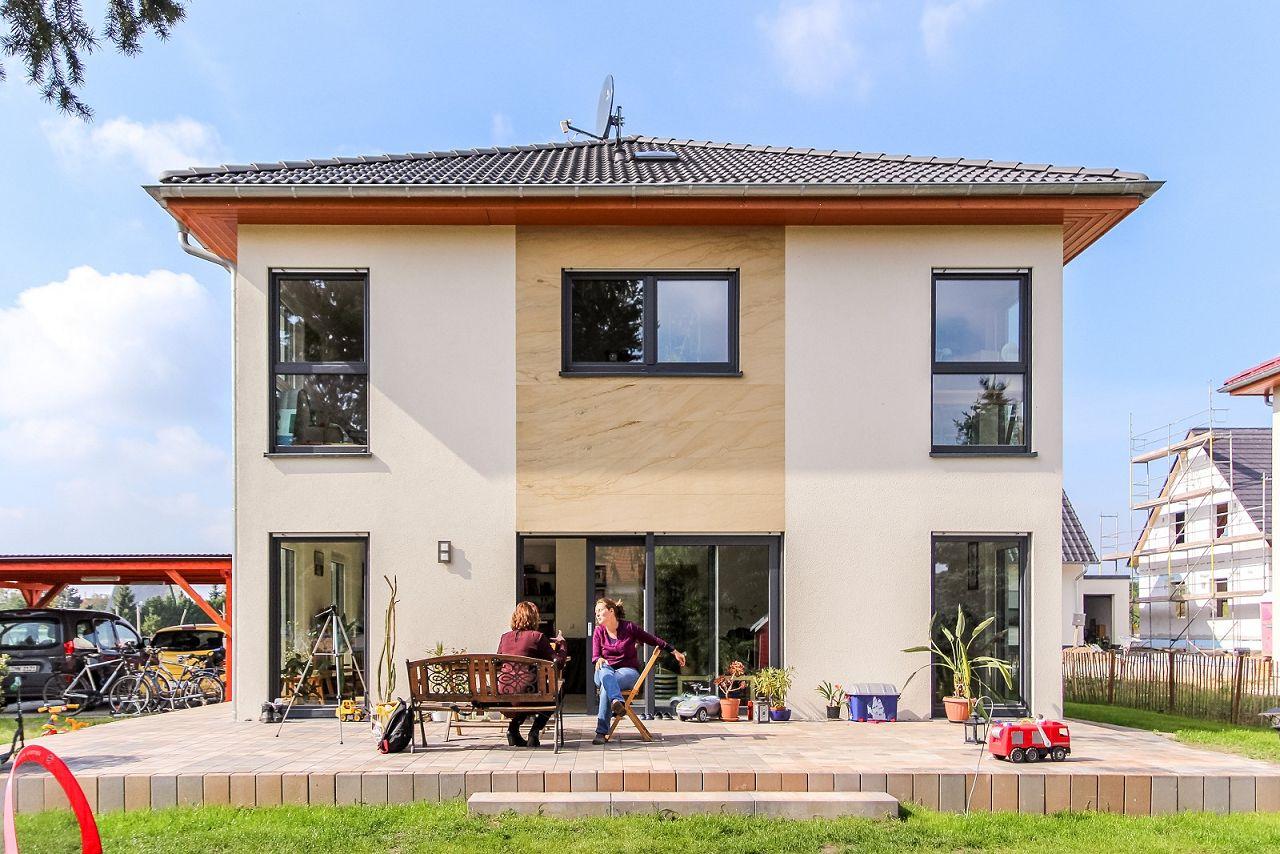 Familie Krumbiegel berichtet über Erfahrungen beim Bau