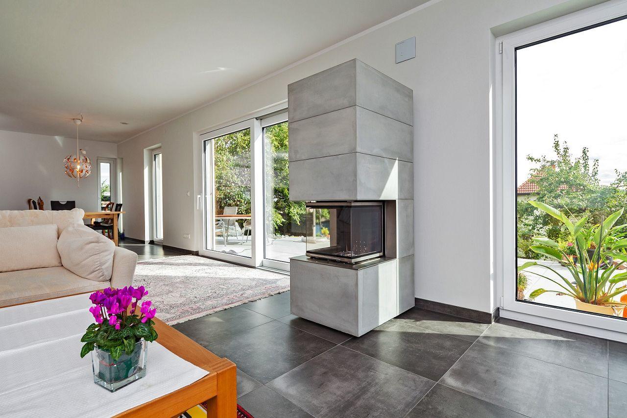 mein streif zuhause kaminofen im fertighaus. Black Bedroom Furniture Sets. Home Design Ideas