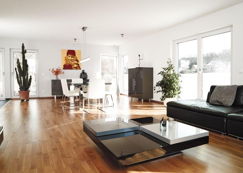 Musterhaus inneneinrichtung wohnzimmer  Inneneinrichtung für STREIF Häuser