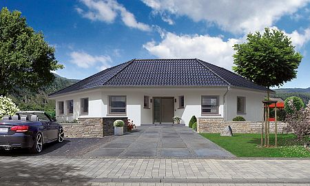 Bungalow planen und bauen mit streif - Was kostet ein dachstuhl walmdach ...