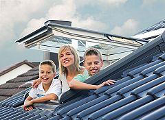 Dreifachverglaste Fenster für schlüsselfertige Häuser von STREIF