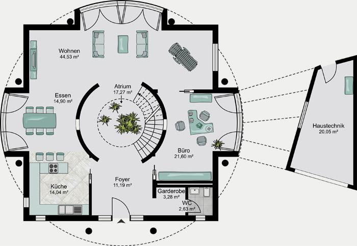 Streif haus der hausbau und fertighaus spezialist aus for Architektenhaus grundriss