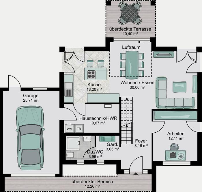 Hausbau Grundriss streif haus der hausbau und fertighaus spezialist aus der eifel