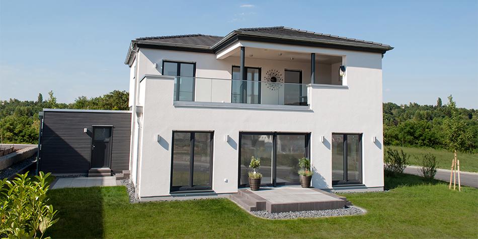 Top Musterhaus Bitburg - Hausbau mit dem Fertighaus Spezialist in der OS45