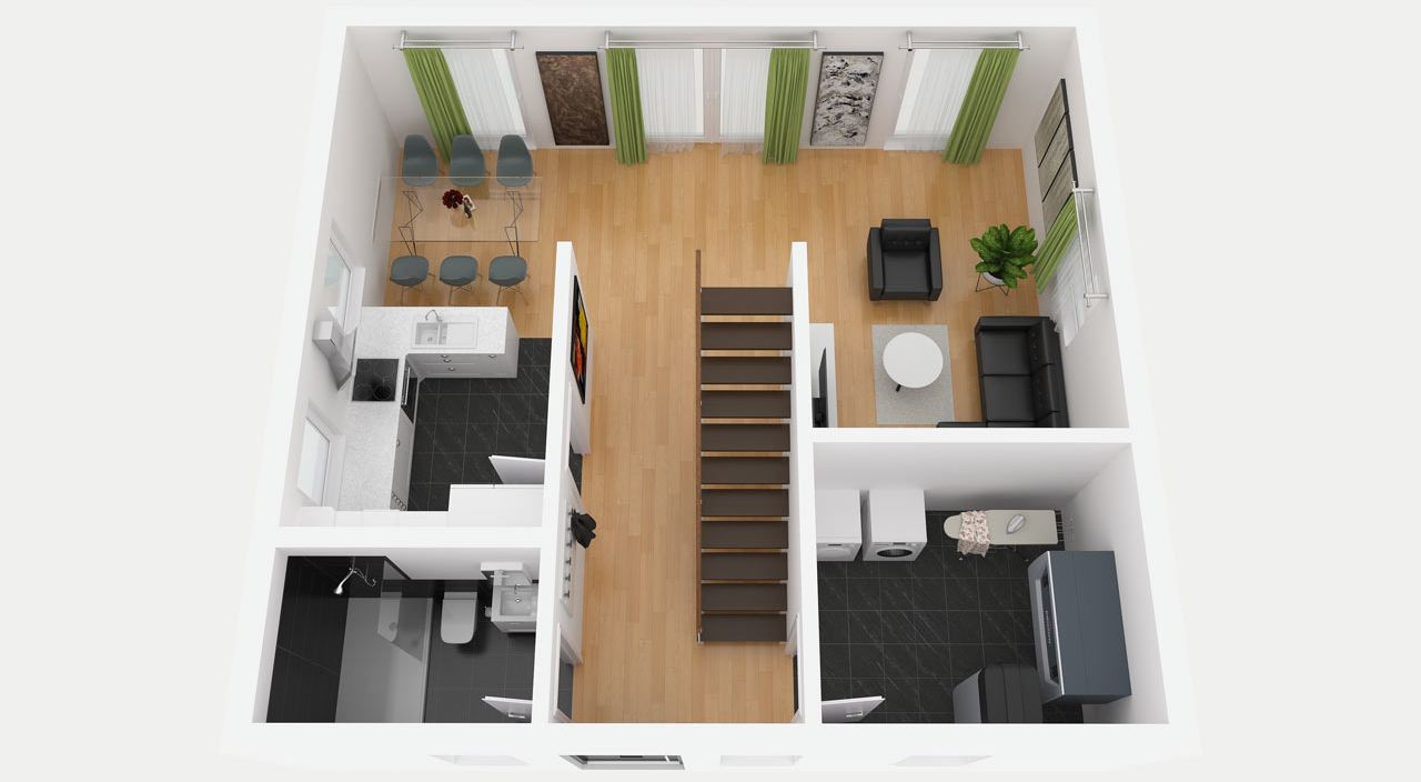 Stadthaus bauen mit STREIF