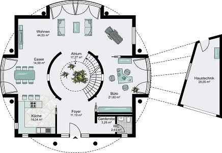 Streif haus hannover hausbau leicht gemacht mit einem for Architektenhaus grundriss