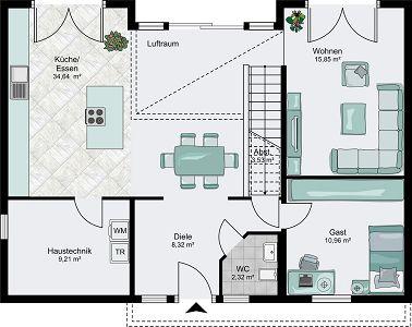 streif haus helsinki hausbau leicht gemacht mit einem fertighaus von streif haus. Black Bedroom Furniture Sets. Home Design Ideas