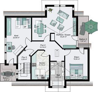 Streif haus mannheim hausbau leicht gemacht mit einem for Architektenhaus grundriss