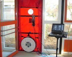 blower door test bei energieplush usern und. Black Bedroom Furniture Sets. Home Design Ideas