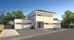 Fassadengestaltung bungalow  STREIF Haus Günzburg - Einfamilienhaus