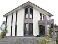 musterhaus bad vilbel hausbau mit dem fertighaus. Black Bedroom Furniture Sets. Home Design Ideas